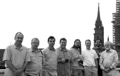 photo of W3C TAG members in Basel in 2004
