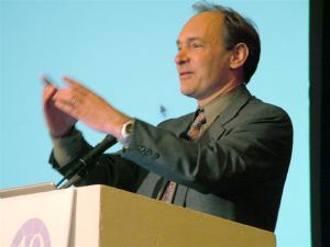 Tim Berners-Lee speaking