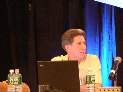 Patrick Curran in panel