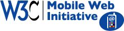 W3C Mobile Web Initiative logo