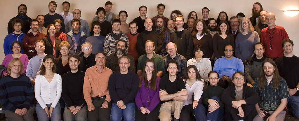 Photo of W3C Team, November 2005