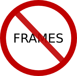 Say no to Frames