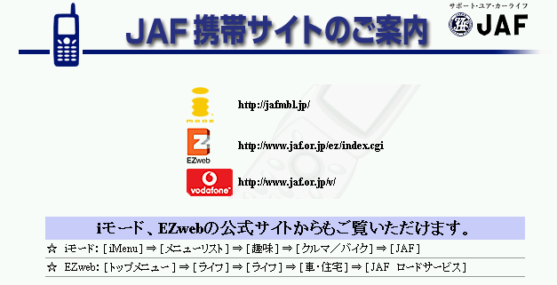 Multiple URIs needed to access this Japanese Automobile Federation site