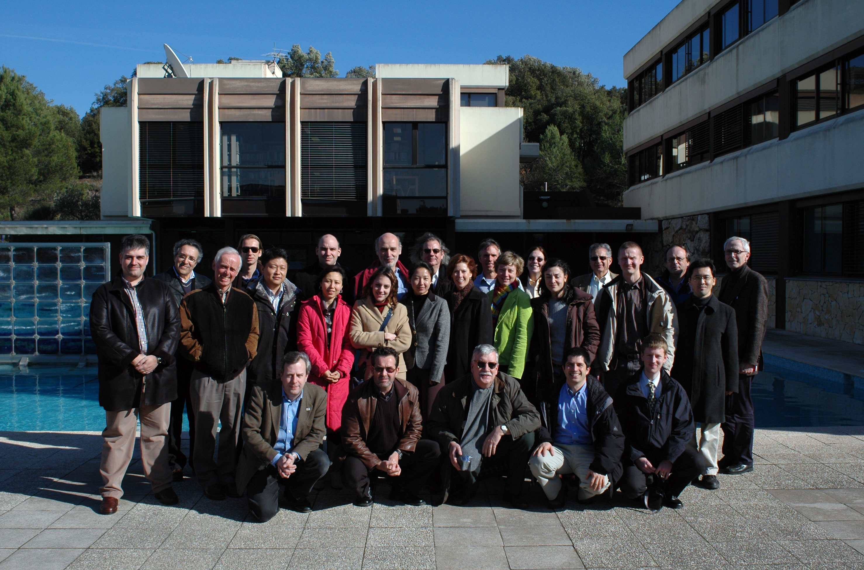 Group photo of meeting participants