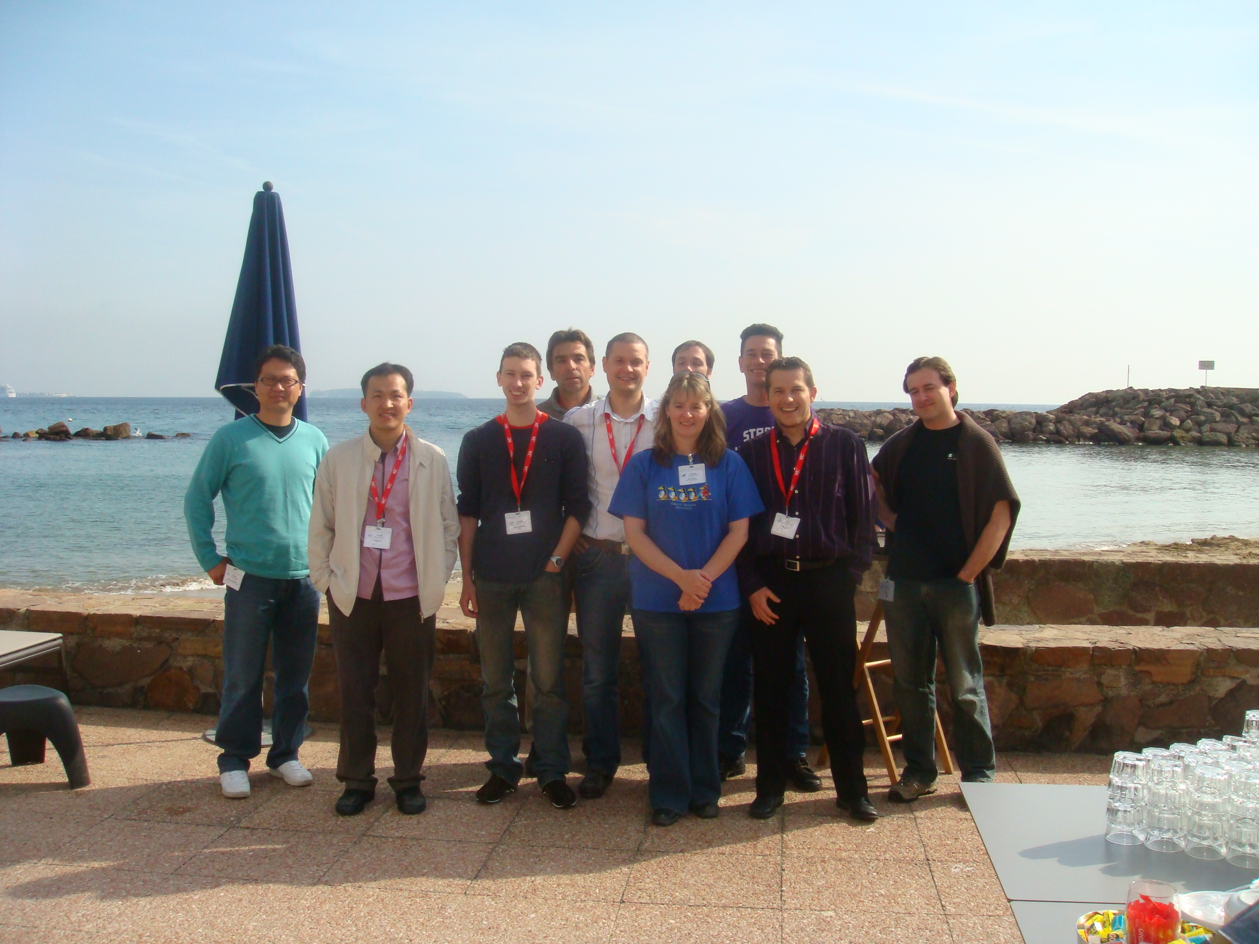 Media Fragment group photo, Cannes (FR)