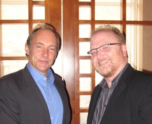 Tim Berners-Lee and Phil McKinney