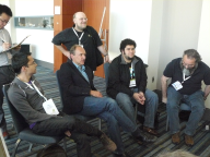 Breakout sessions at the LOD camp