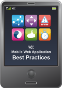 Mobile Web Application Best Practices flip card excerpt
