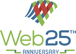 Web 25th anniversary