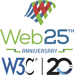 Web25 and W3C20 anniversaries