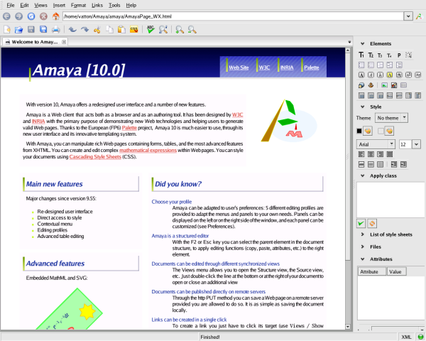 3 Free Dreamweaver Alternatives Software for Mac - Amaya