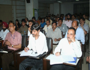 Participants of the India Office Workshop