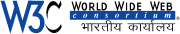 W3C Indian Office logo