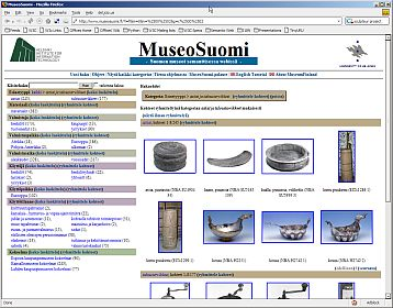 MuseoSuomi Application dump