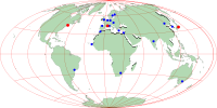 W3C Host and Offices Map