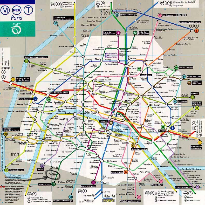 Map Of London Underground Stations