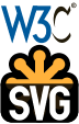 W3C-SVG Vertical logo