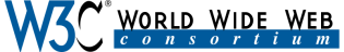 Main logo of the World Wide Web Consortium