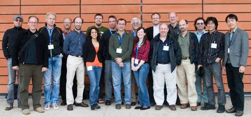 [Photo: group photo of the CSS working group in Lyon, France]