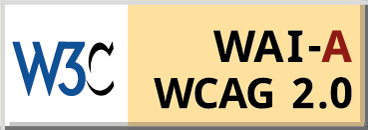 Level A conformance, W3C WAI Web content Accessibility Guidelines web 2.0