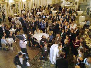 Fotografía de un Grupo en la celebración del Décimo Aniversario del W3C
