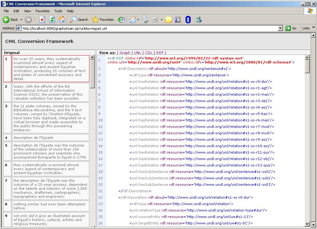 Common Web Language
