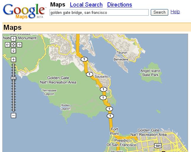 Google Maps 2006