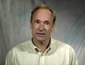 Snapshot of Tim Berners-Lee video