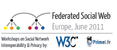Federated social web conf