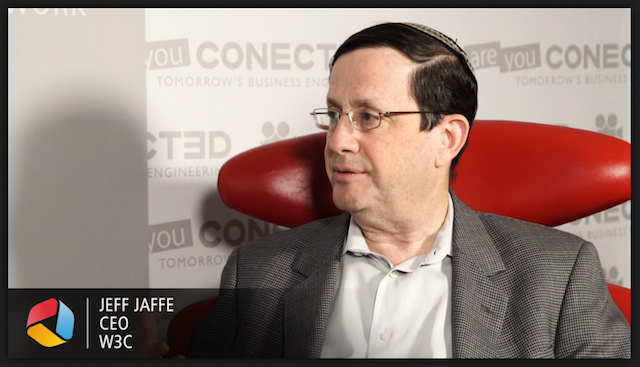 screenshot of Jeff Jaffe Web of Things interview at IOTW USA 2016