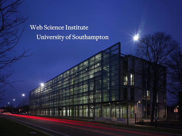 Image of WSI host of the W3C UK and Ireland Office