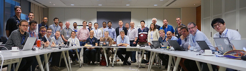 Attendees of the Web Payments Working Group meeting in London in July, 2016