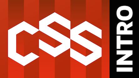 شعار دورة مقدمة CSS
