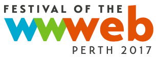 logo of the Festival of the Web - Perth 2017
