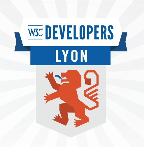 logo of W3C devmeetup in Lyon