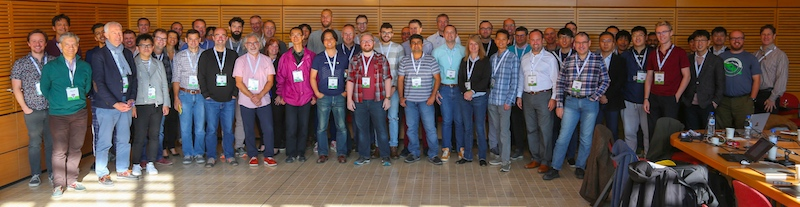 Group photo of Web Payments WG and Web Authentication WG