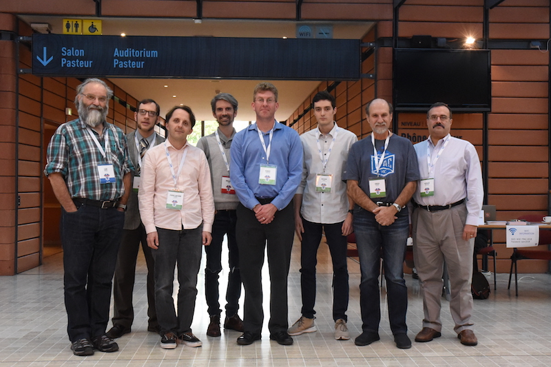 JSON-LD Working Group members at the F2F meeting in Lyon, October 2018