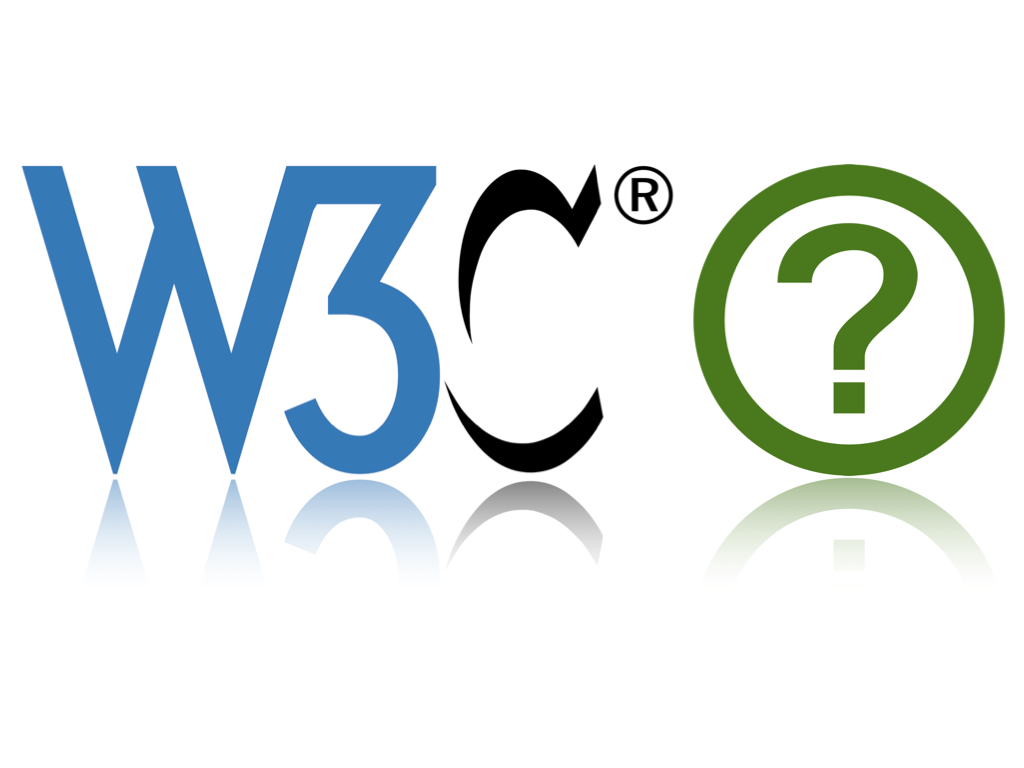 logos of W3C and WHATWG