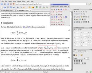 editing a formula