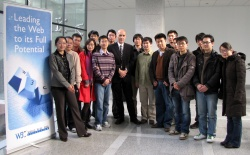 Participants in the W3C China Community meeting