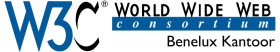 The logo of W3C Benelux