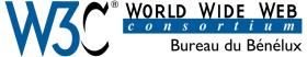 Le logo du W3C Bénélux
