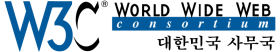 W3C Korean Office logo