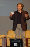 Picture of Richard Ishida presenting at Web Fundamentals
