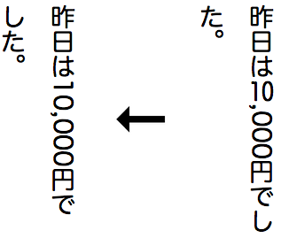 Styling vertical Chinese, Japanese, Korean and Mongolian text