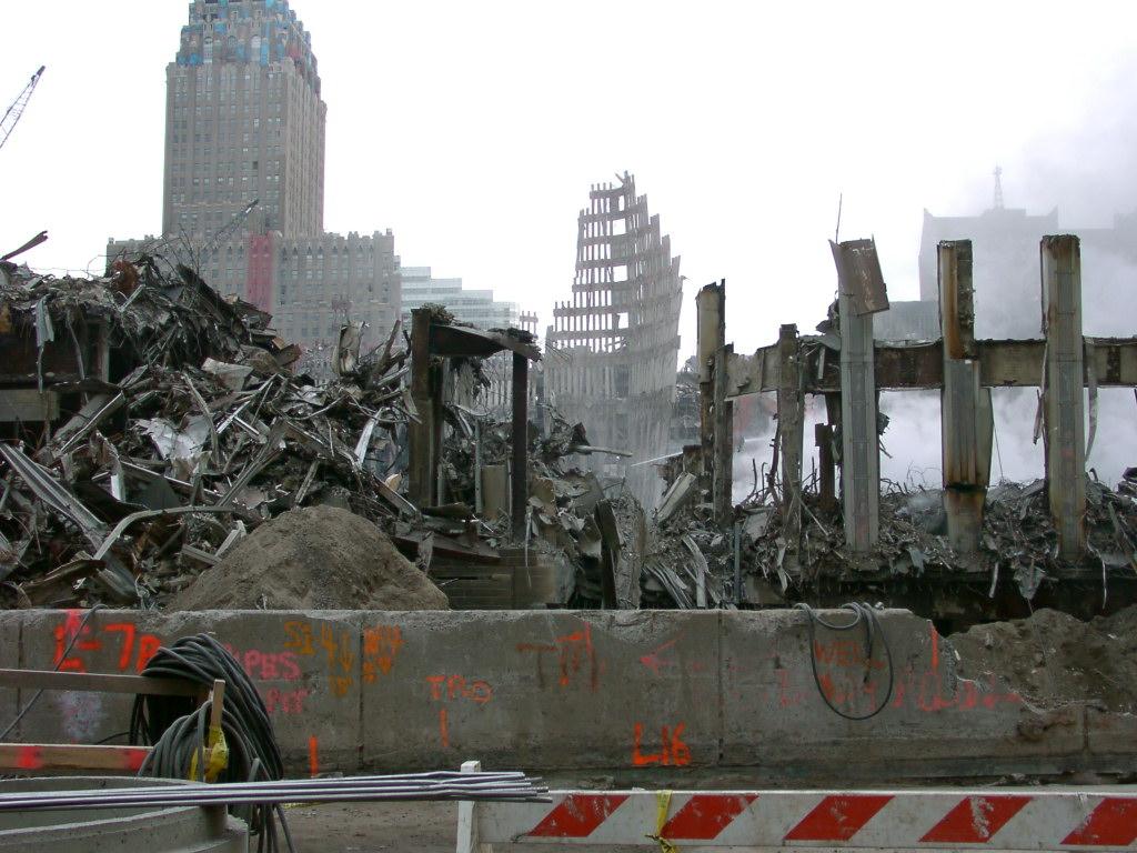 Photos of World Trade Center: Ground zero 31 October