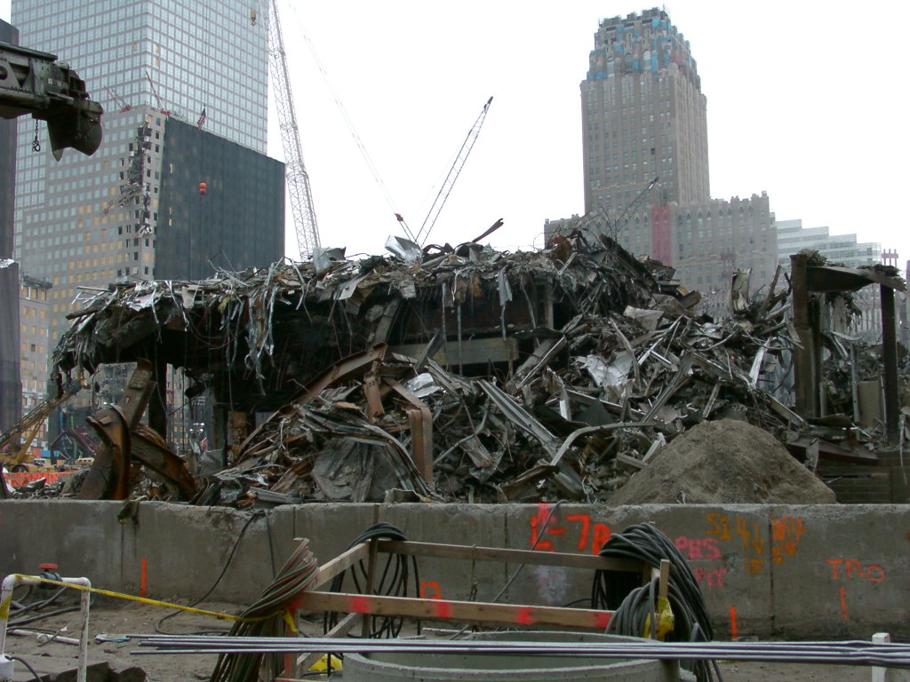 photos of world trade center ground zero 31 october