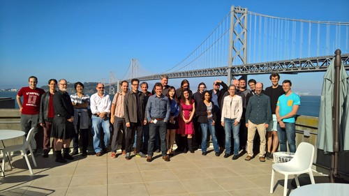 [Photo: group photo of the CSS working group in San Francisco]