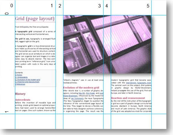 Column Layout Graphic Design Examples