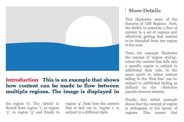 Css Regions Module